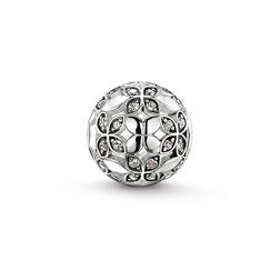 "Bead ""lotus leaf"" from the Karma Beads collection in the THOMAS SABO online store"