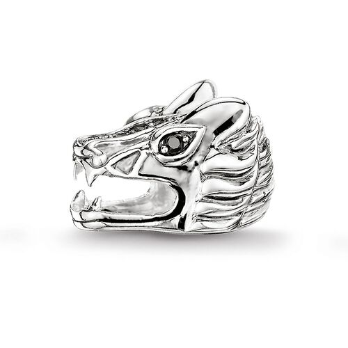 """Bead """"dragon's head"""" from the Karma Beads collection in the THOMAS SABO online store"""