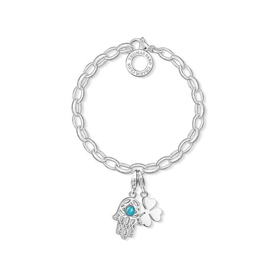 Charm bracelet Hand of Fatima from the Charm Club collection in the THOMAS SABO online store