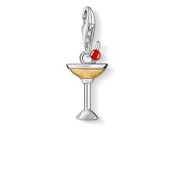 "Charm pendant ""cocktail"" from the  collection in the THOMAS SABO online store"