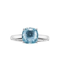 "solitaire ring ""blue"" from the Glam & Soul collection in the THOMAS SABO online store"