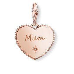 Charm-Anhänger Herz Mum rosegold aus der  Kollektion im Online Shop von THOMAS SABO