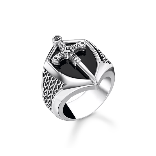 Bague épée argent de la collection Rebel at heart dans la boutique en ligne de THOMAS SABO