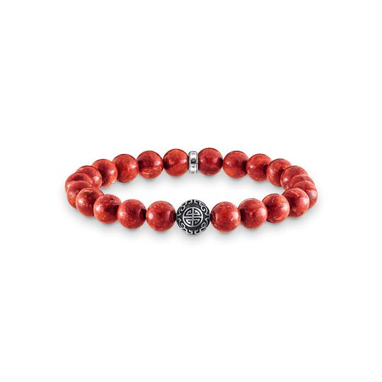 bracelet ethnic red from the  collection in the THOMAS SABO online store