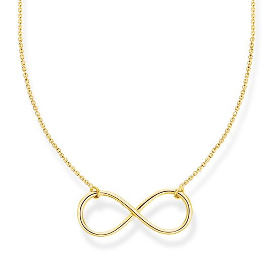 Necklace infinity gold from the Charming Collection collection in the THOMAS SABO online store