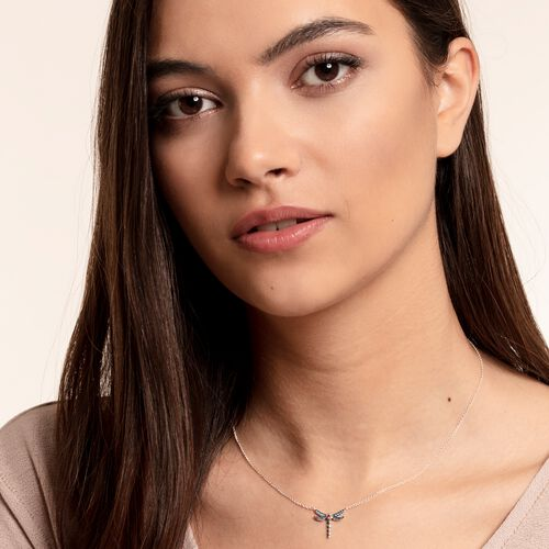"necklace ""dragonfly small"" from the Glam & Soul collection in the THOMAS SABO online store"