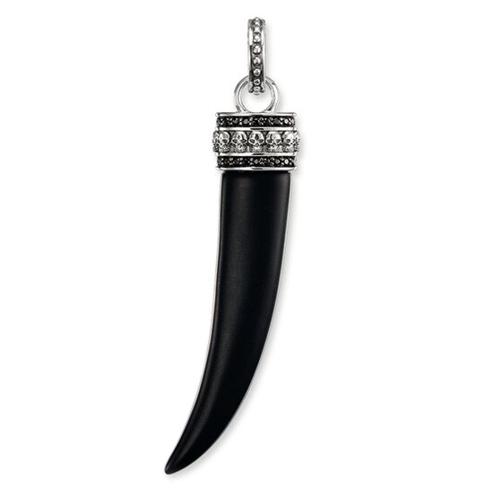 Pendant tooth with skull pe484 men thomas sabo usa pendant from the rebel at heart collection in the thomas sabo online store mozeypictures Image collections