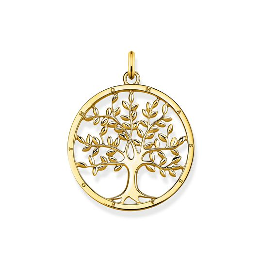 pendant golden Tree of Love from the  collection in the THOMAS SABO online store