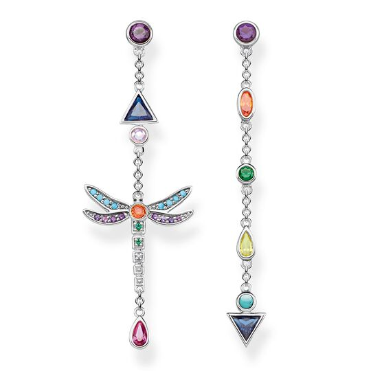 "earrings ""dragonfly"" from the Glam & Soul collection in the THOMAS SABO online store"