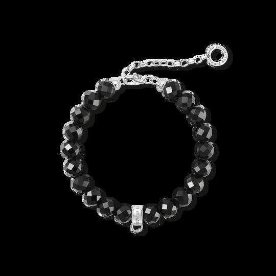 bracelet Charm noir de la collection Charm Club dans la boutique en ligne de THOMAS SABO