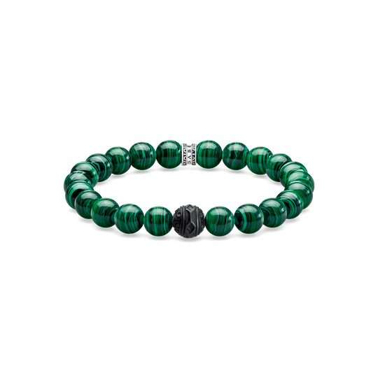 bracelet Black Cat vert de la collection Rebel at heart dans la boutique en ligne de THOMAS SABO