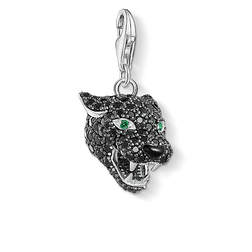 Charm pendant Black Cat from the Charm Club Collection collection in the THOMAS SABO online store