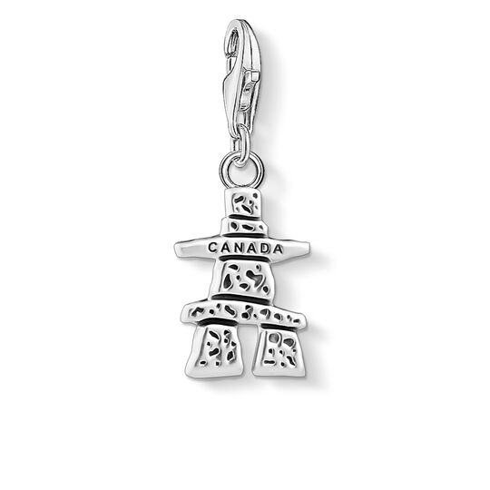 Charm pendant Canada Inukshuk from the Charm Club collection in the THOMAS SABO online store