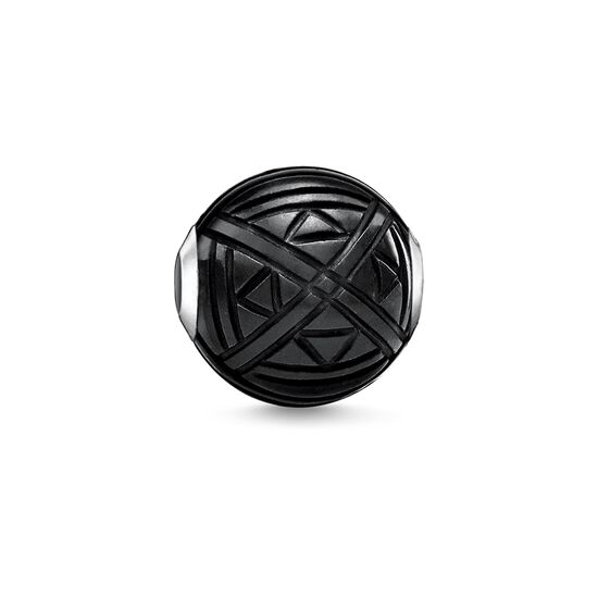 "Bead ""etnico nero "" from the Karma Beads collection in the THOMAS SABO online store"