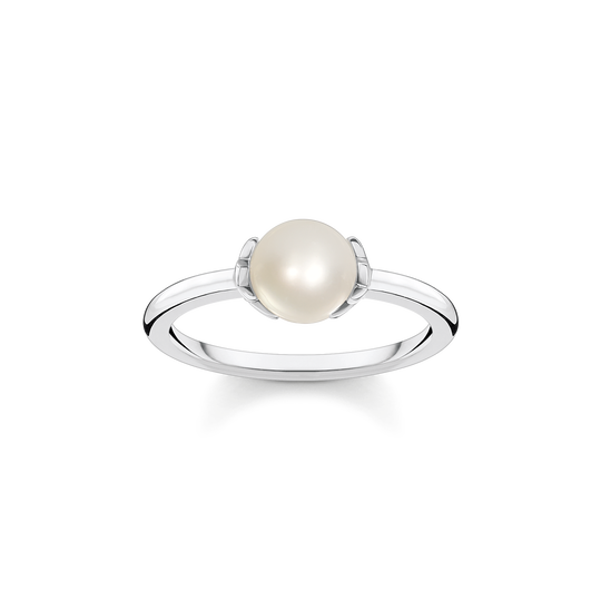 Ring pearl with stars from the Glam & Soul collection in the THOMAS SABO online store