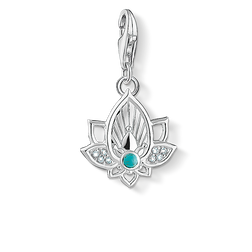 Charm pendant lotus flower from the  collection in the THOMAS SABO online store