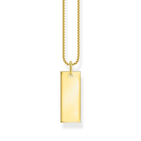 Halsband tag guld ur kollektionen  i THOMAS SABO:s onlineshop