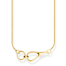 necklace Heritage gold from the Glam & Soul collection in the THOMAS SABO online store