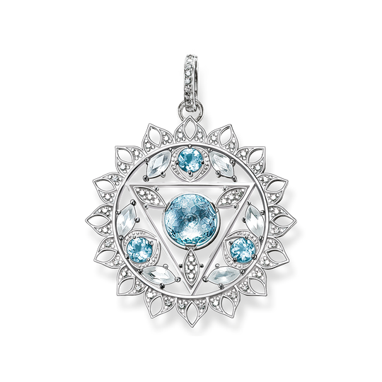 pendant throat chakra from the  collection in the THOMAS SABO online store