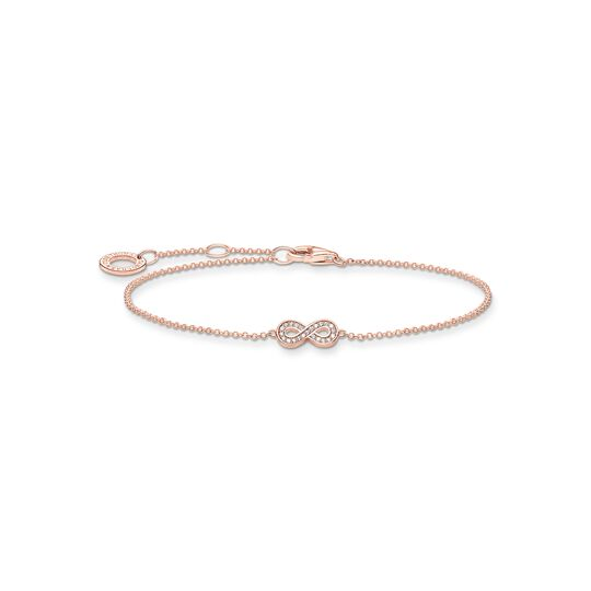 Bracelet infinity rose gold from the Charming Collection collection in the THOMAS SABO online store