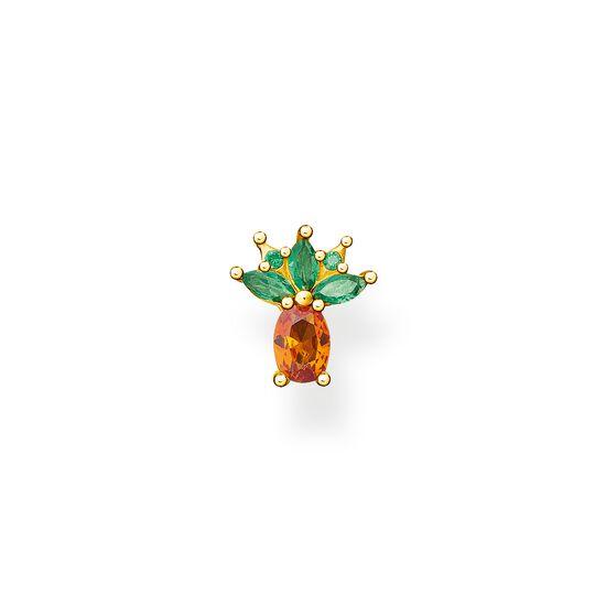 Stiftörhängen individuellt ananas guld ur kollektionen Charming Collection i THOMAS SABO:s onlineshop