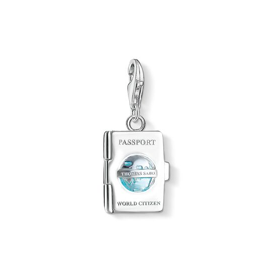 Charm pendant passport from the Charm Club collection in the THOMAS SABO online store