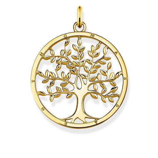 """Anhänger """"Tree of Love gold"""" aus der Glam & Soul Kollektion im Online Shop von THOMAS SABO"""