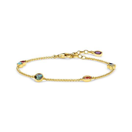 bracelet colourful stones from the  collection in the THOMAS SABO online store
