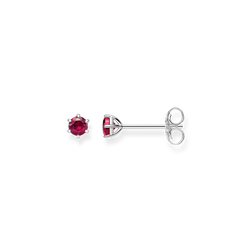 """orecchini a lobo """"Pietra rossa"""" from the Glam & Soul collection in the THOMAS SABO online store"""