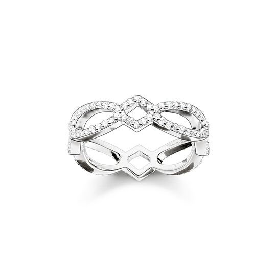 ring eternity love knot from the  collection in the THOMAS SABO online store