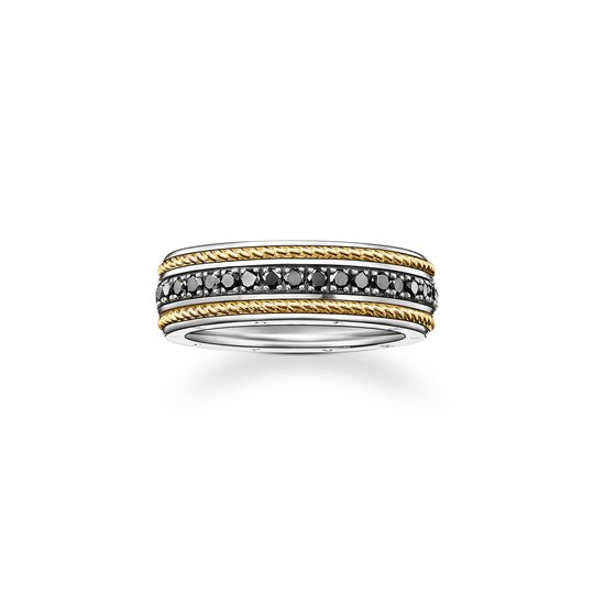 ring eternity cord from the  collection in the THOMAS SABO online store