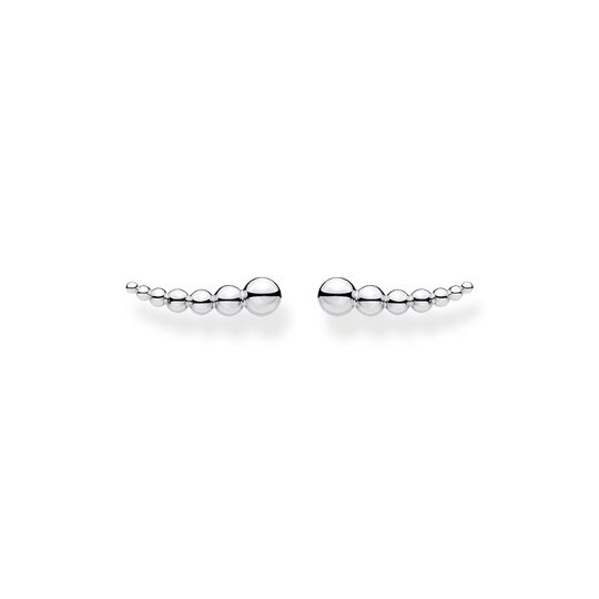 Ear climber dots silver from the Charming Collection collection in the THOMAS SABO online store