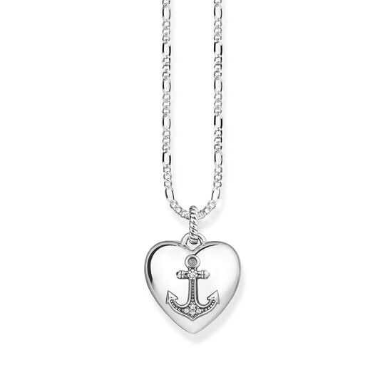 "necklace ""heart locket anchor"" from the Glam & Soul collection in the THOMAS SABO online store"
