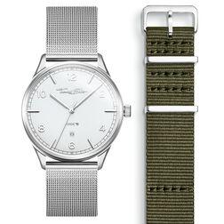 SET CODE TS Reloj blanco & correa caqui de la colección  en la tienda online de THOMAS SABO