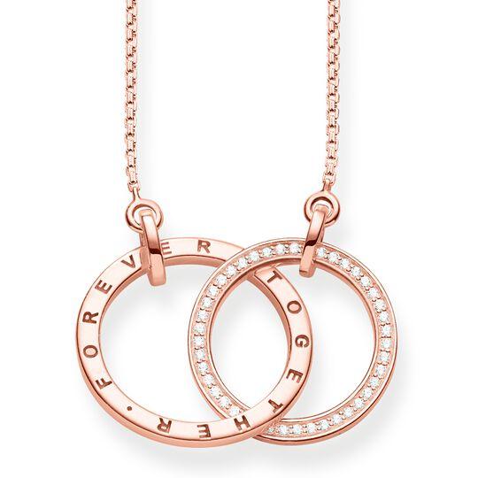 Collier Forever Togehter grand or rose de la collection  dans la boutique en ligne de THOMAS SABO