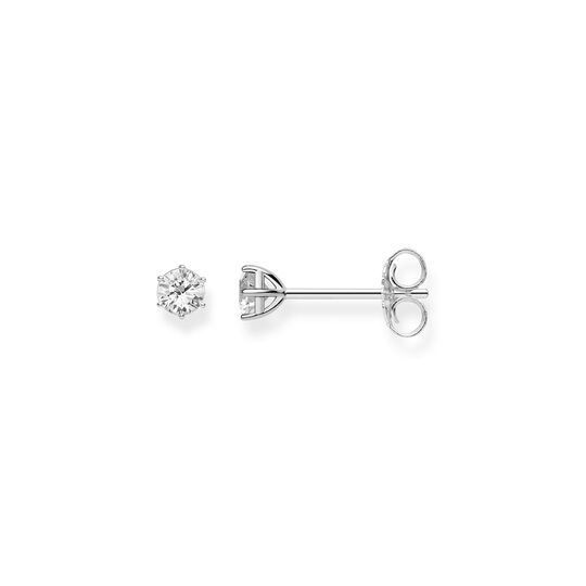 ear studs white stone from the Glam & Soul collection in the THOMAS SABO online store