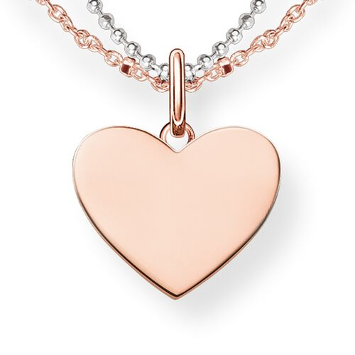 Necklace heart lbke0004 women thomas sabo great britain necklace from the love bridge collection in the thomas sabo online store aloadofball Choice Image