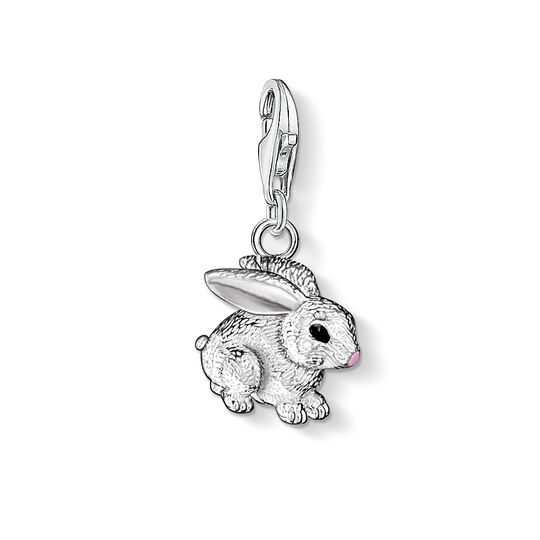 Charm pendant rabbit from the  collection in the THOMAS SABO online store