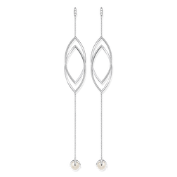 orecchini pendenti con perle from the Glam & Soul collection in the THOMAS SABO online store