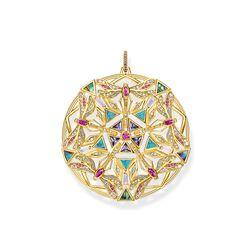 pendentif amulette kaléidoscope libellule or de la collection Glam & Soul dans la boutique en ligne de THOMAS SABO