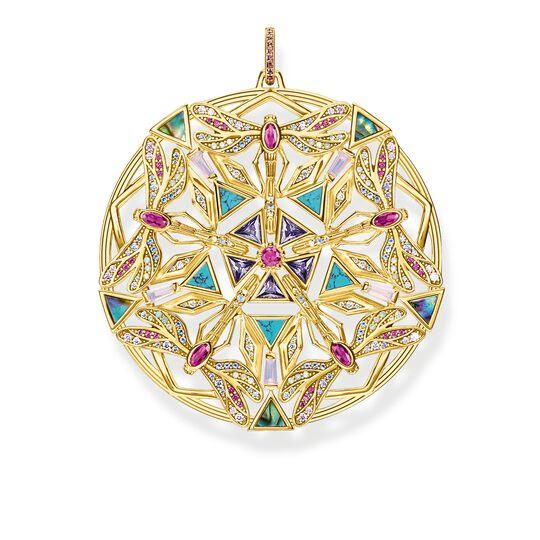 Anhänger Amulett Kaleidoskop Libelle gold aus der Glam & Soul Kollektion im Online Shop von THOMAS SABO
