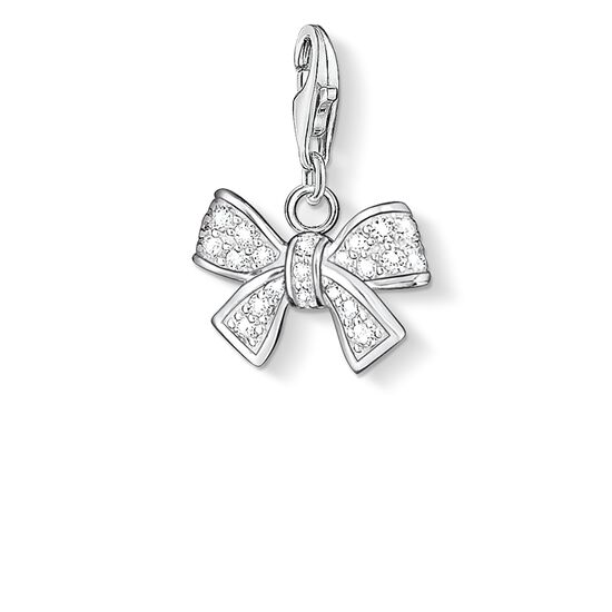 "Charm pendant ""bow"" from the  collection in the THOMAS SABO online store"