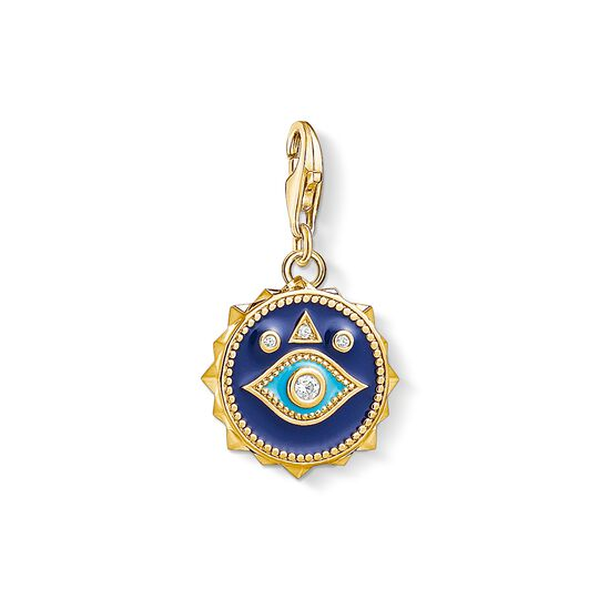 Charm pendant blue nazar eye from the Charm Club collection in the THOMAS SABO online store