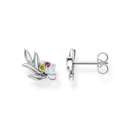 Ear studs flower silver from the Glam & Soul collection in the THOMAS SABO online store