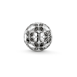 Bead black lotus leaf from the Karma Beads collection in the THOMAS SABO online store