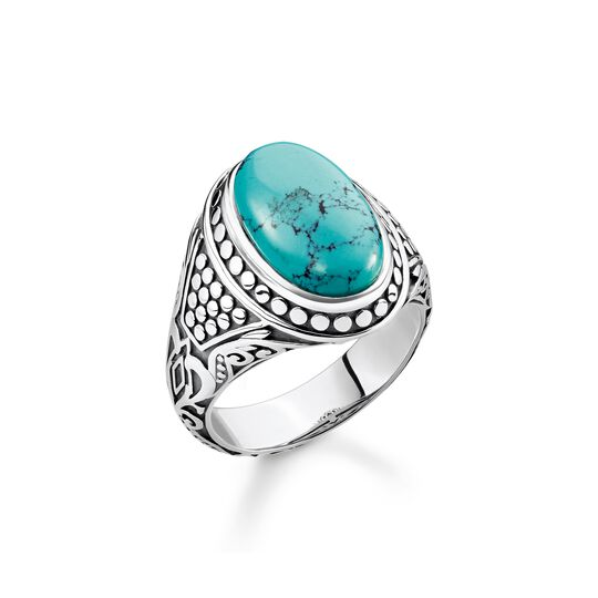 ring turquoise from the  collection in the THOMAS SABO online store