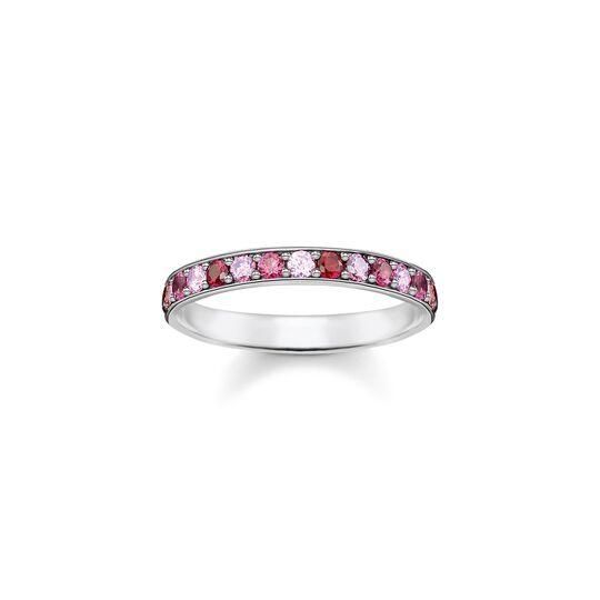 Ring rosa Steine aus der  Kollektion im Online Shop von THOMAS SABO