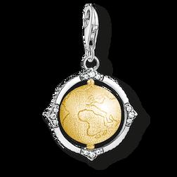 """pendentif Charm """"vintage globe terrestre"""" de la collection  dans la boutique en ligne de THOMAS SABO"""