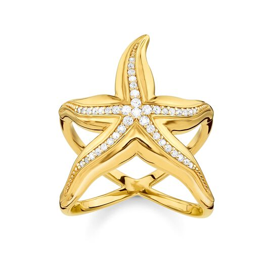 ring starfish from the Glam & Soul collection in the THOMAS SABO online store