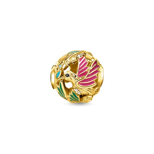 bead hummingbird gold from the Karma Beads collection in the THOMAS SABO online store